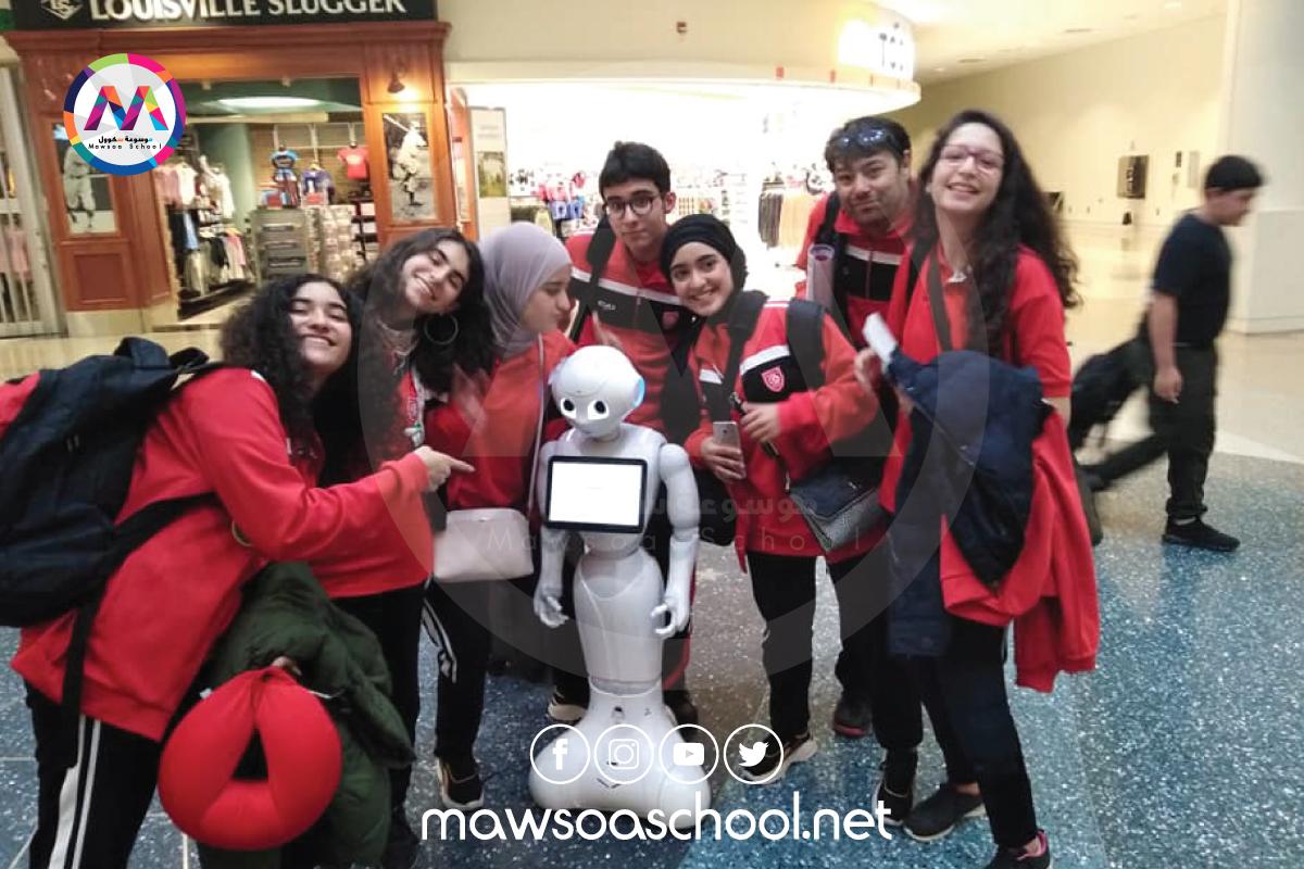 6 تلاميذ يحرزون على جائزة التحكيم في بطولة العالم للروبوتيك بالولايات المتحدة الأمريكية