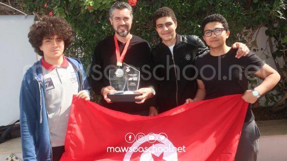 تلاميذ من تونس يشاركون في المسابقة العالمية للروبوت تحت الماء في الولايات المتحدة الامريكية