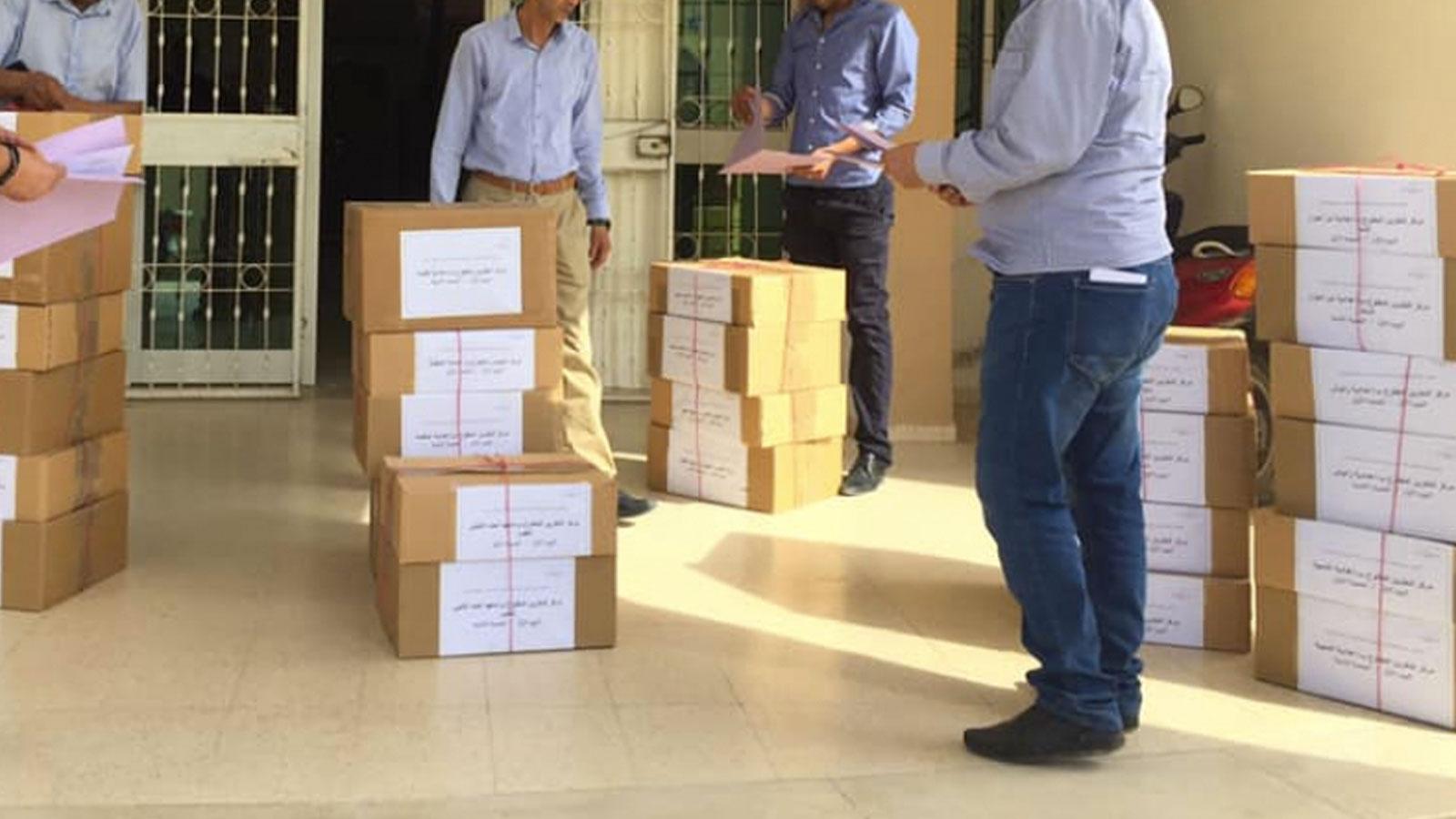 انطلاق عملية توزيع الإختبارات الكتابية لإمتحان الباكالوريا