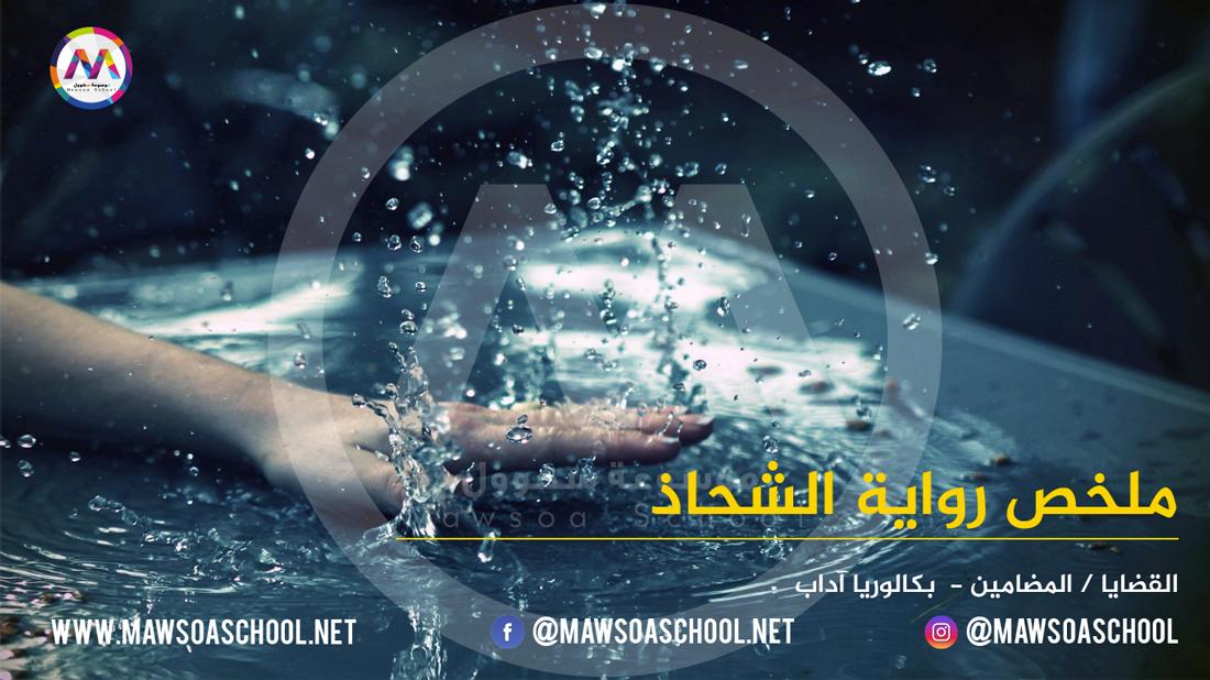 ملخص رواية الشحاذ: القضايا - العربية - بكالوريا آداب